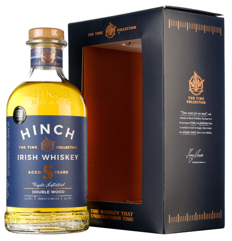 Hinch 5 Year Old Double Wood Irish Whiskey