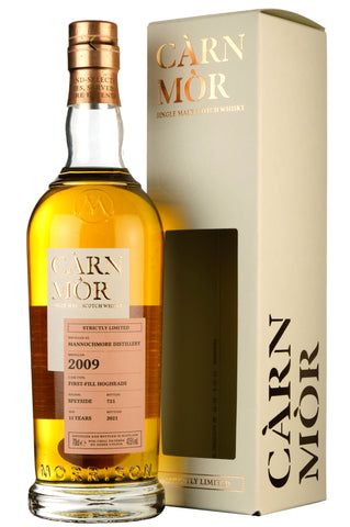Mannochmore 2009-2021 | 11 Year Old Carn Mor Strictly Limited