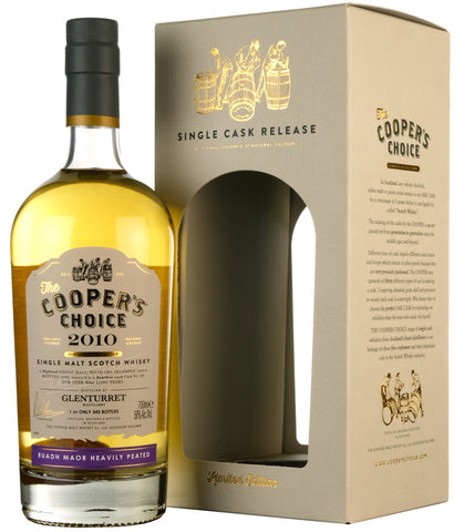 Glenturret Ruadh Maor 2010-2020 | 9 Year Old Coopers Choice Cask 186