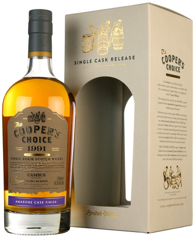Cambus 1991-2020 | 29 Year Old Coopers Choice Cask 9067
