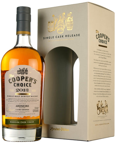 Ardmore 2013-2021 | 7 Year Old Coopers Choice Cask 9374