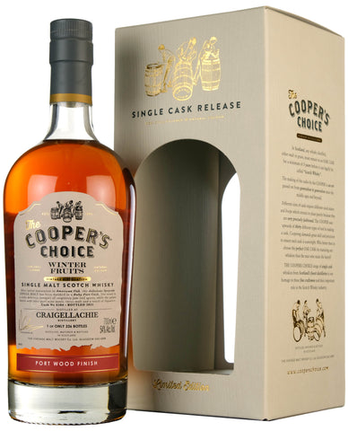 Craigellachie Winter Fruits | Cooper's Choice Cask 6584