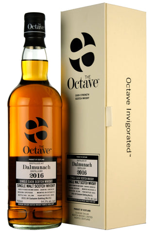 Dalmunach 2016-2021 | 4 Year Old Duncan Taylor Octave Cask 10828316