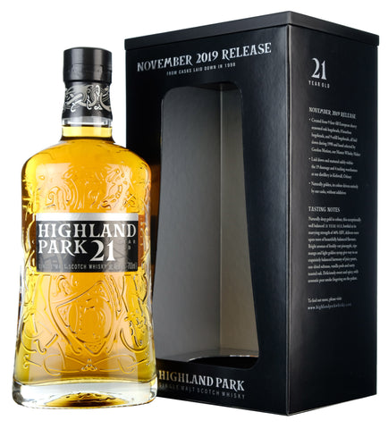 Highland Park 21 Year Old 2019 Release