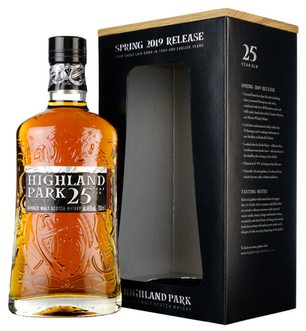 Highland Park 25 Year Old 2019 Release