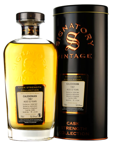 Caledonian 1987-2020 | 32 Year Old Signatory Vintage Cask 23482