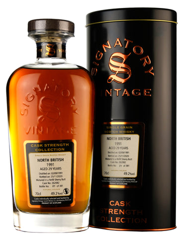 North British 1991-2020 | 29 Year Old | Signatory Vintage Cask 262082