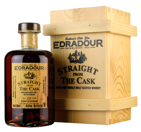 Edradour 2010-2021 | 10 Year Old Straight From The Cask 407