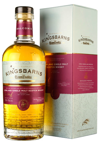 Kingsbarns Balcomie Sherry Casks