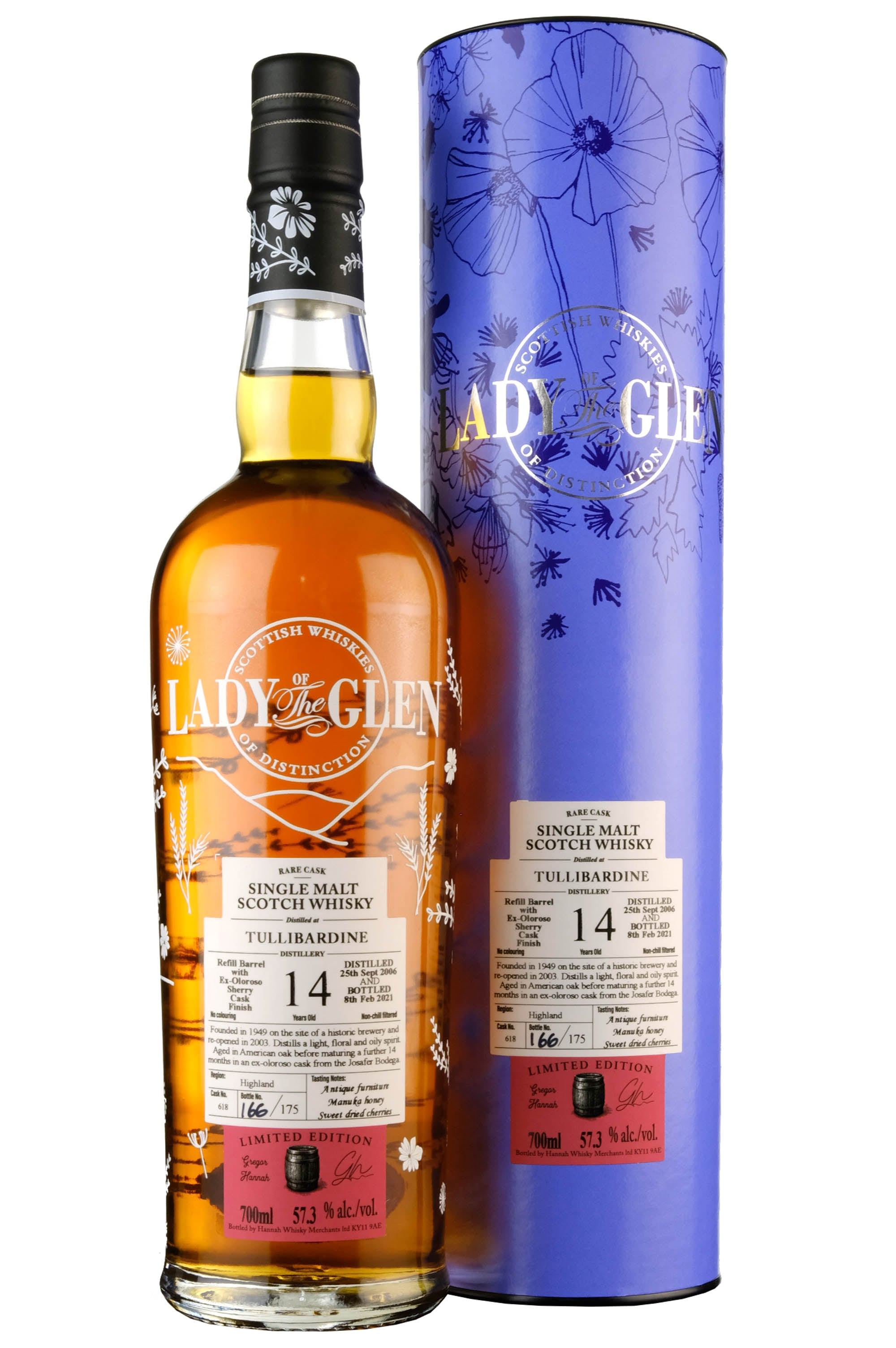 Tullibardine 2006-2021 | 14 Year Old | Lady Of The Glen Cask 618