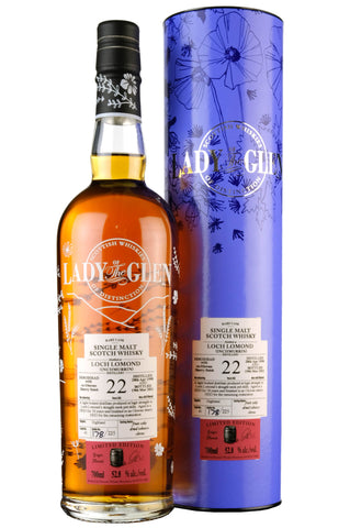 Loch Lomond 1998-2021 | 22 Year Old | Lady Of The Glen Cask 1