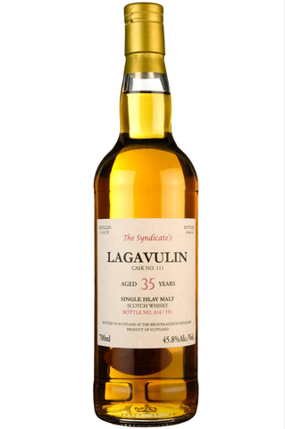 Lagavulin 1979-2014 | 35 Year Old | The Syndicate's Single Cask 111