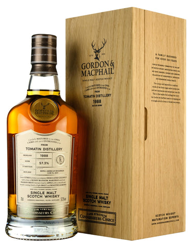 Tomatin 1988-2021 | 31 Year Old | Connoisseurs Choice Cask Strength