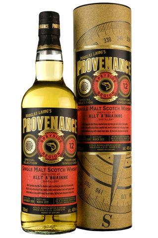 Allt-A-Bhainne 2008-2021 | 12 Year Old | Provenance Cask DL14655