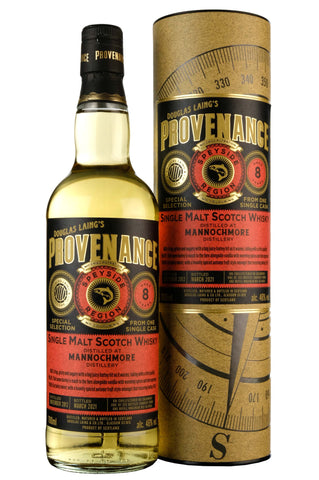 Mannochmore 2012-2021 | 8 Year Old | Provenance Cask DL14660