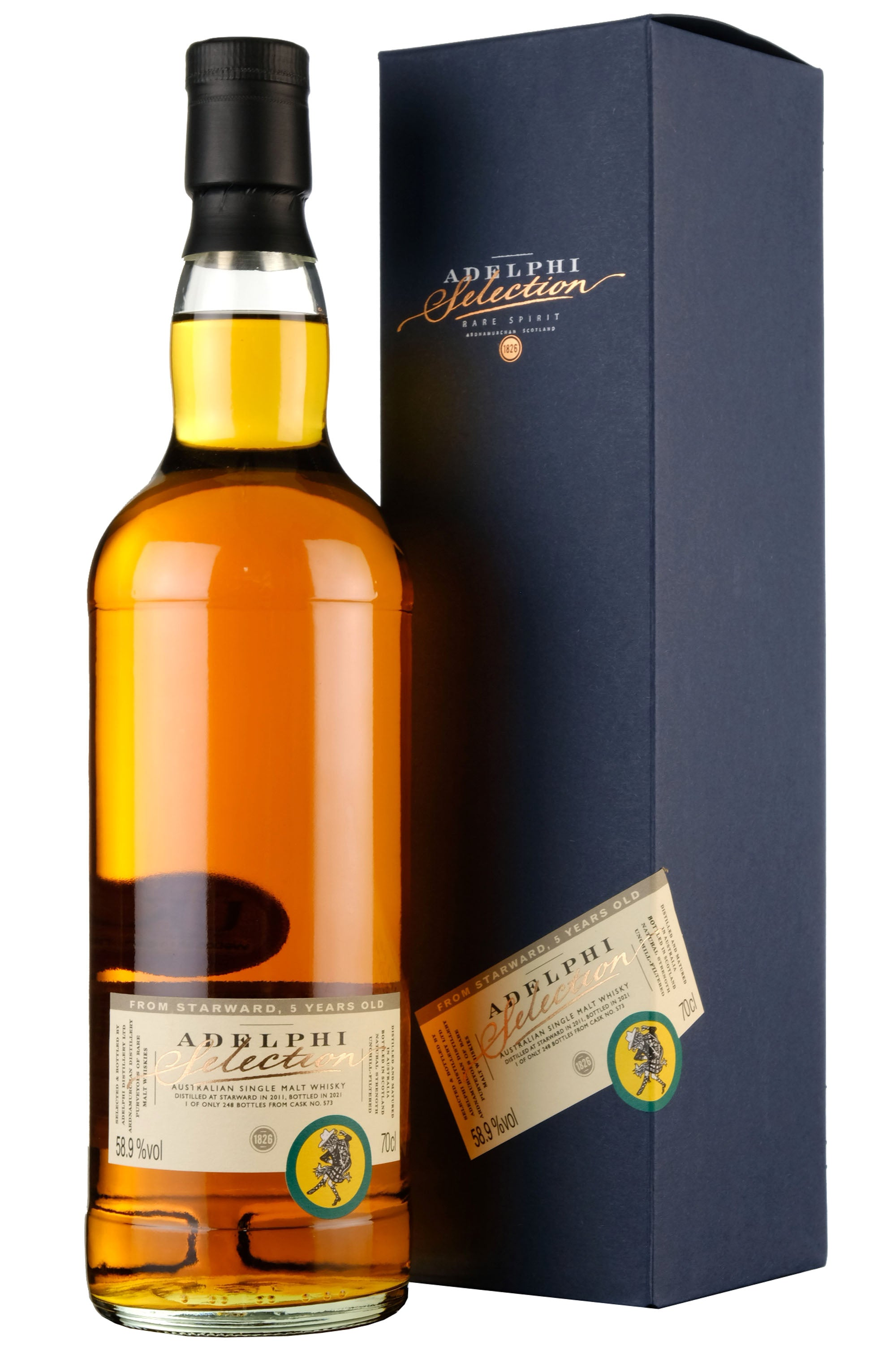 Starward 2011-2021 | 5 Year Old Adelphi Selection Cask 573