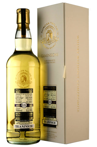 Teaninich 2009-2021 | 11 Year Old | Duncan Taylor Dimensions Cask 67717567