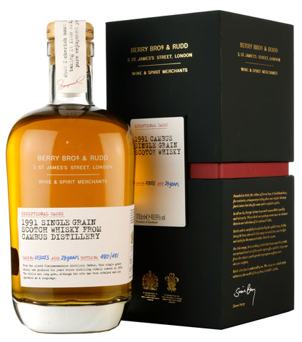 Cambus 1991-2021 | 29 Year Old Berry Bros & Rudd Cask 103023