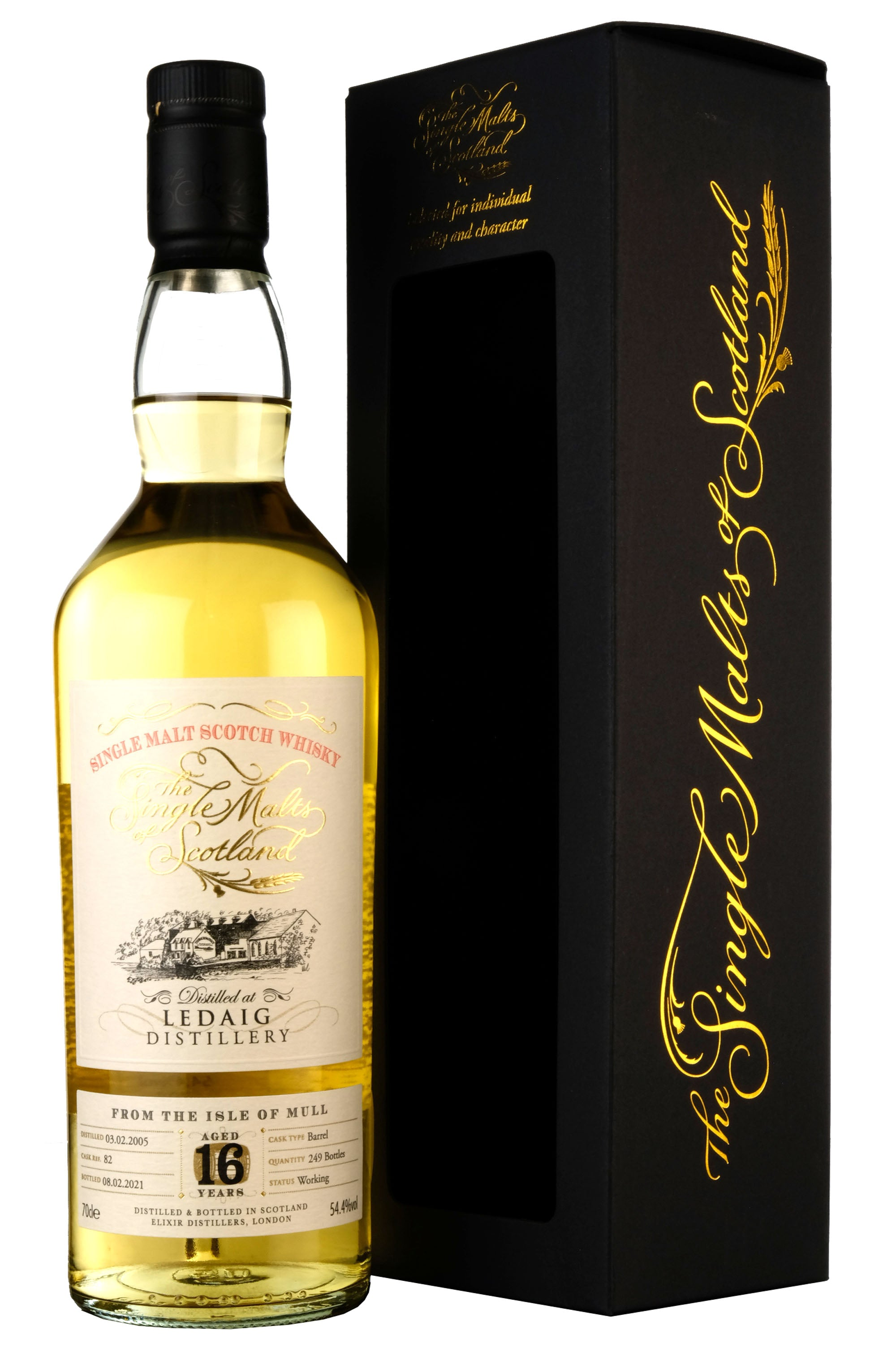 Ledaig 2005-2021 | 16 Year Old The Single Malts Of Scotland 82