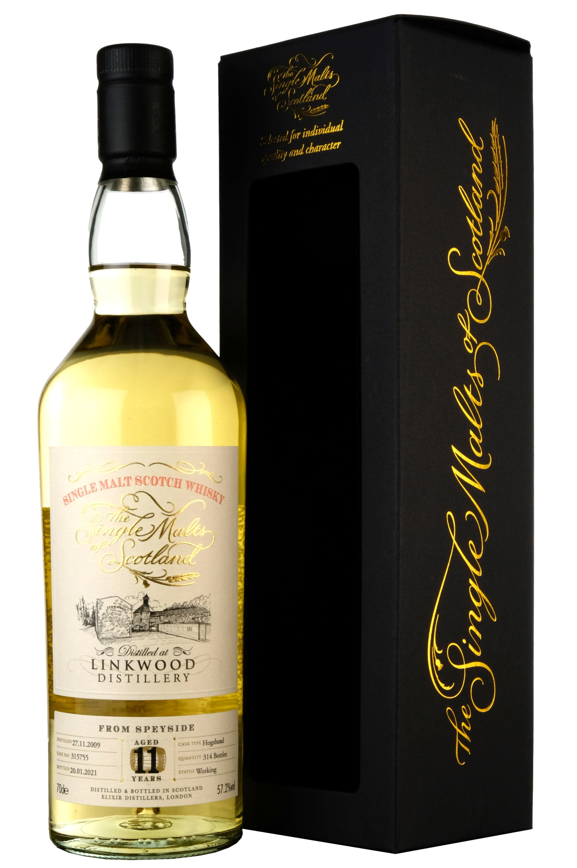 Linkwood 2009-2021 | 11 Year Old The Single Malts Of Scotland 315755