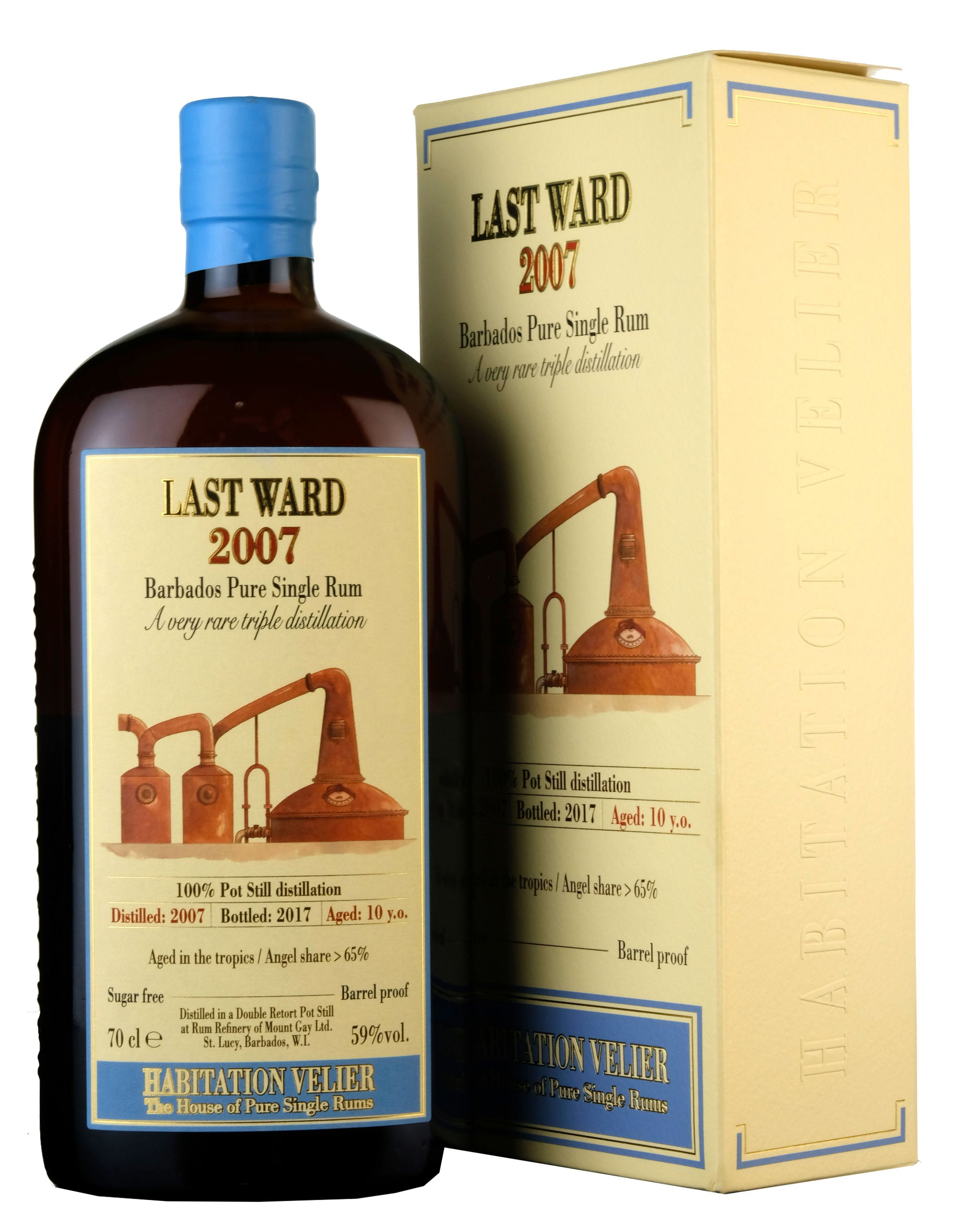Last Ward (Mount Gay) 2007-2017 | 10 Year Old Habitation Velier