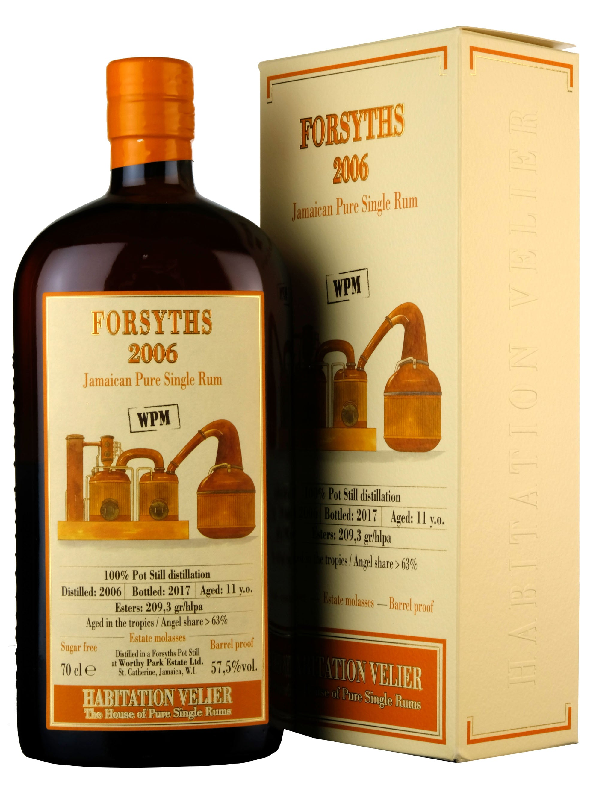 Forsyths (Worthy Park) 2006-2017 | 11 Year Old Habitation Velier