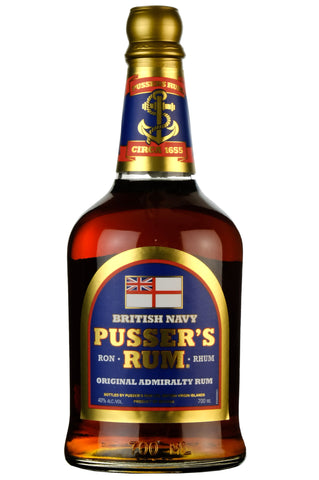 Pusser's Blue Label Navy Rum
