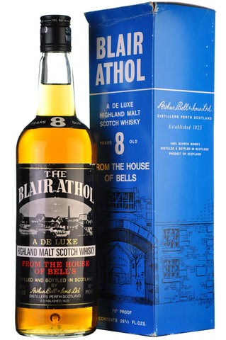 blair athol 8 year old 1970s, highland single malt scotch whisky