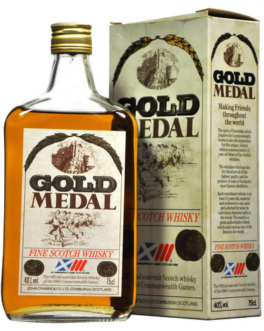 gold medal blended scotch whisky whiskey