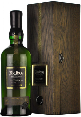 ardbeg provenance 1974 bottles 1997 55.6%