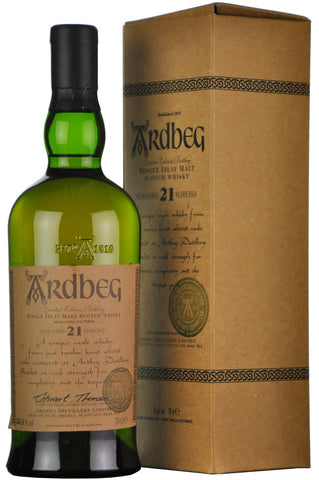 ardbeg 21 year old, islay single malt, scotch whisky, whiskey
