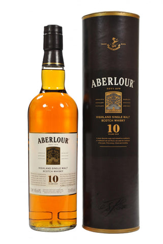 aberlour, 10, year, old, speyside, single, malt, scotch, whisky, whiskey
