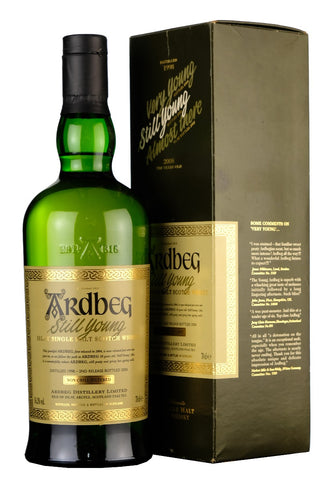 ardbeg, 1988, 8, year, old, still, young, islay, single, malt, scotch, whisky, whiskey