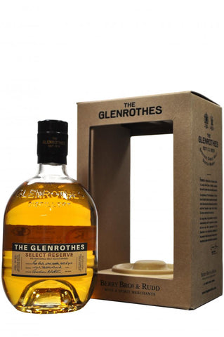 glenrothes select reserve, speyside single malt scotch whisky