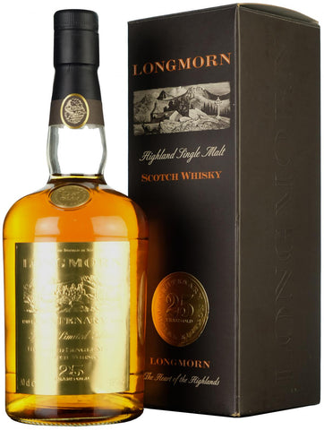 longmorn, 25, year, old, single, malt, whisky, whiskey