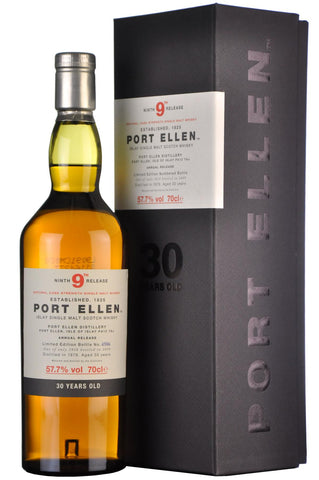 port ellen 1979 9th annual release 30 year old islay single malt scotch whisky