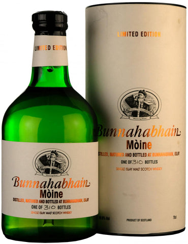 bunnahabhain festival 2004, bottled 20th may 2004, islay single malt scotch whisky whiskey