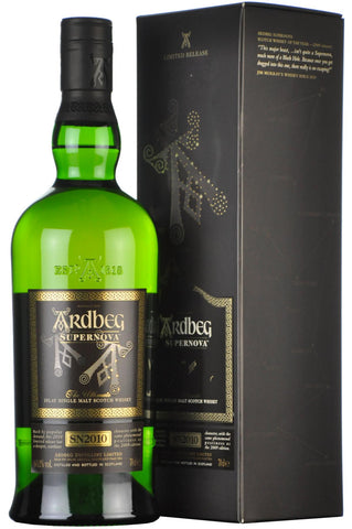 ardbeg sn2010 supernova islay single malt scotch whisky