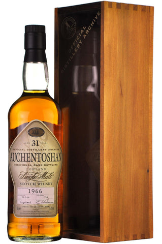 auchentoshan 1966 31 year old lowland single malt scotch whisky