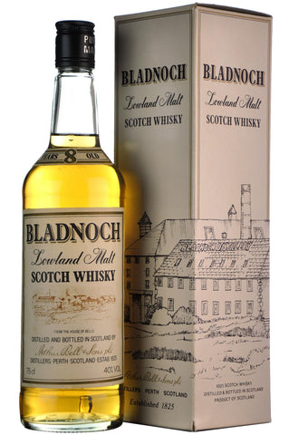 bladnoch 8 year old lowland single malt scotch whisky whiskey