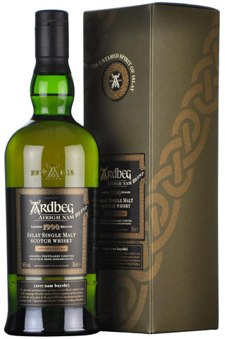 ardbeg, airgh, nam, beist, 1990, 17, year, old, single, islay, malt, scotch, whisky, whiskey,
