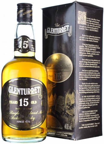glenturret 15 year old highland single malt scotch whisky whiskey