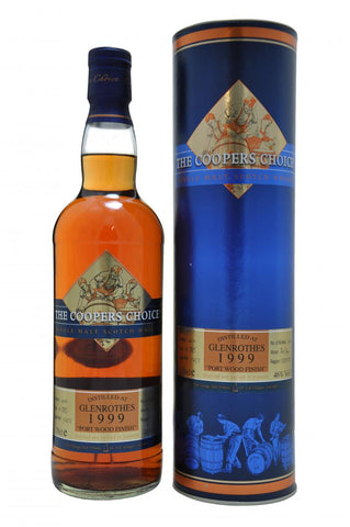 glenrothes distilled 1999 bottled 2010 bottled by coopers choice speyside single malt scotch whisky whiskey