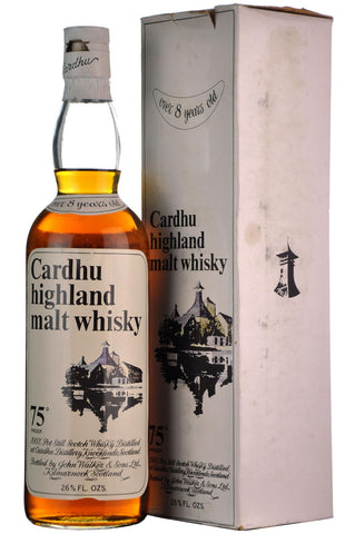 cardhu 8 year old released 1968 speyside single malt scotch whisky whiskey