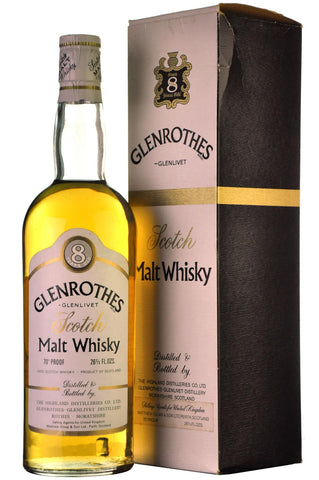 glenrothes-glenlivet 8 year old speyside single malt scotch whisky whiskey