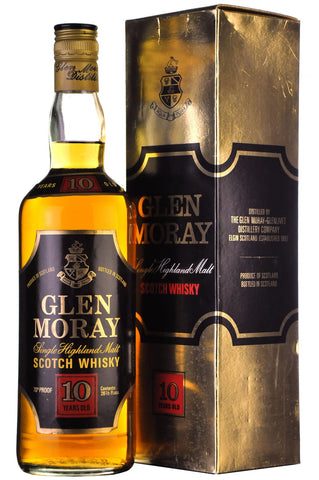 glen moray 10 year old 70 proof speyside single malt scotch whisky whiskey