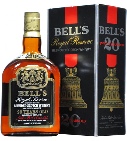 bells, 20, year, old, royal, reserve, blended, scotch, whisky, whiskey