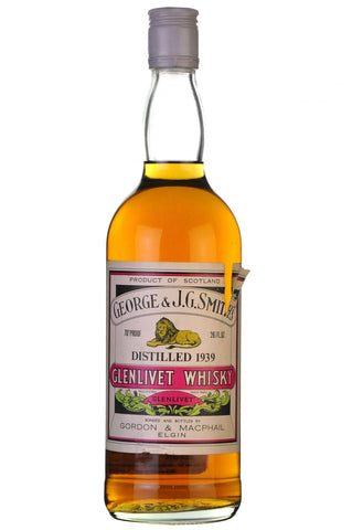 glenlivet,1939, bottled,1970, gordon and macphail, george g smith's, single malt, scotch, whisky, whiskey