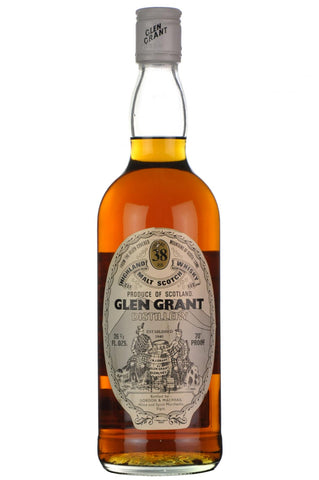 glen grant 38 year old bottled by gordon and macphail speyside single malt scotch whisky whiskey
