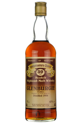glenburgie distilled 1954 30 year old gordon and macphail connoisseurs choice single malt scotch whisky whiskey